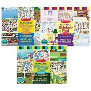Maven Gifts: Melissa and Doug Reusable Sticker Pads- Habitats, Vehicles, and Play House