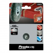 Piranha staaldraadborstel 100 mm X36010