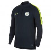 Haut de footballà manches longues Manchester City FC Dri-FIT Squad Drill pour Homme - Bleu