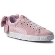 Сникърси PUMA - Suede Bow Uprising Wn's 367455 03 Winsome Orchid/Puma White
