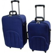 LUXOY XIPPER High Quality Imported Combo 24+20 Check-in Luggage - 24 inch(Blue)