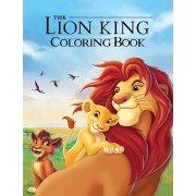 The Lion King Coloring Book: Coloring Book for Kids and Adults, Activity Book, Great Starter Book for Children, Paperback/Juliana Orneo