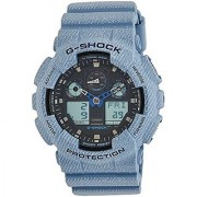 Casio G-shock Analog-Digital Black Dial Mens Watch-G758 (GA-100DE-2ADR)