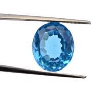 4.1 Ratti Best quality Blue Topaz stone Lab Certified
