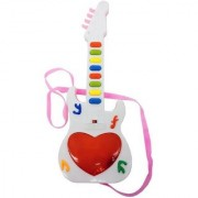 DDH Music Mini Guitar Toy for Kids (Multicolor)