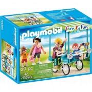 Playmobil Family Fun, Camping - Bicicleta de familie