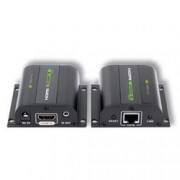 Techly Extender HDMI Full HD 3D IR su cavo Cat.5E/6/6A/7 60m Autoregolato