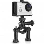 Cámara Deporte 1.5 Inch NOVATEK NT96650 1080P 30FPS 12MP HD Video Waterproof Anti-Shaking EU Plateado