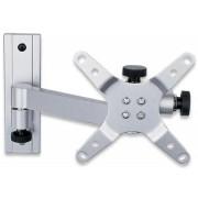 Supporto a muro per TV LED LCD 13-30'' inclinabile 2 snodi silver
