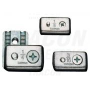 Clema de strangere cablu, acelmax, otel AMAX6 d=6mm (1/4coll), M6