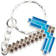J!NX Minecraft - Diamond Pickaxe Metal Keychain