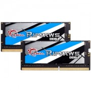 Memorie G.Skill Ripjaws DDR4 SO-DIMM 32GB (2x16GB) 2666MHz 1.20V CL18 Dual Channel Kit, F4-2666C18D-32GRS