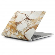 MacBook Pro 13.3 2016 A1706/A1708 Classic Case - Marble - White / Gold