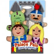 Комплект за куклен театър - Приятели от двореца, 19082 Melissa and Doug, 000772190824