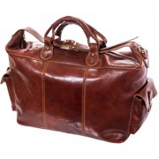 Luciano Fabrini Leather Cabin Bag