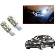Auto Addict Car T10 9 SMD Headlight LED Bulb for Headlights Parking Light Number Plate Light Indicator Light For BMW 3 Series