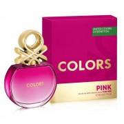 Benetton colors de benetton pink 80 ml eau de toilette edt spray profumo donna