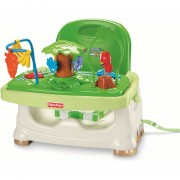 Silla de comer Fisher Price Portatil Selva Tropical-Verde