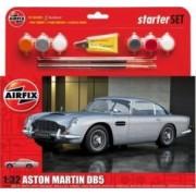 Kit constructie Airfix Aston Martin DB5 Starter Set scara 1 32