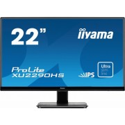 "Monitor IPS, IIYAMA 22"", ProLite XU2290HS-B1, 5ms, 5Mln:1, DVI/HDMI, Speakers, FullHD"