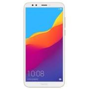 "Telefon Mobil Huawei Honor 7C, Procesor Octa-Core 1.8GHz, IPS LCD Capacitive touchscreen 5.99"", 3GB RAM, 32GB Flash, Camera Duala 13+2MP, Wi-Fi, 4G, Dual Sim, Android (Auriu)"