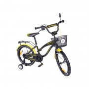 Bicicleta copii MyKids Toma Exclusive 1805 Yellow
