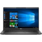 Laptop Dell Latitude 7400 Intel Core (8th Gen) i7-8665U 1TB SSD 16GB FullHD Win10 Pro Tastatura iluminata FPR LTE Black