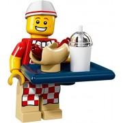 LEGO Collectible Minifigure Series 17 - Hot Dog Vendor (71018)