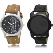 The Shopoholic Black Combo New Stylist Latest Black Dial Analog Watch For Boys Men Watches
