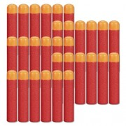 Ennrui 30 Pcs 9.5cm Red Foam Darts Refill for Nerf N-strike Elite Mega Series Blasters Toy Gun