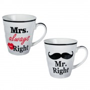 OUT OF THE BLUE Mr Right & Mrs Always Right Muggar
