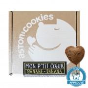 Aston's Cookies Biscuits Chien Mon P'tit Coeur Banane
