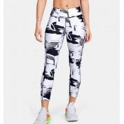 Under Armour Dameslegging HeatGear® Armour Printed Ankle Crop - Womens - Black - Grootte: Large