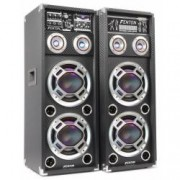 Set karaoke boxa activa + pasiva karaoke 2x 6.5 USBRGB KA-26 2x100W RMS