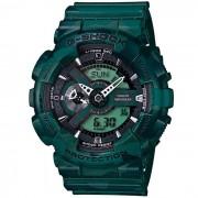Casio G-Shock GA-110 CM-3AER reloj-verde del camuflaje