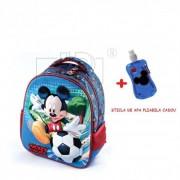 Ghiozdan gradinita Mickey Mouse 3D+cadou