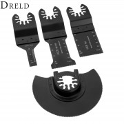 DRELD 4pcs/set Oscillating Multitool E-cut Standard Saw Blade for Dremel Fein Bosch Multimaster Tools Renovator Power Tool