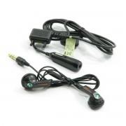 Sony Ericsson Casque stéréo sony ericsson hpm-64d turquoise avec double adaptateur
