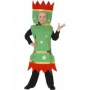 Costum copii bomboana de Craciun 130 cm 6-7 ani