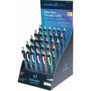 Display SCHNEIDER Slider Rave XB 30 pixuri - 2x verde 3x rosu 10x negru 15x albastru