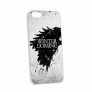 Husa Apple iPhone SE 5S 5 Silicon Winter is Coming W29