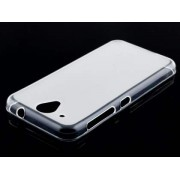 Frosted Colour TPU Case for HTC Desire 520 - HTC Soft Cover (Clear)