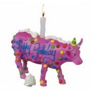 Obiect Decorativ Personalizat Vacuta Happy Birthday Cadou Aniversar Deosebit Glumet Amuzant Hazliu