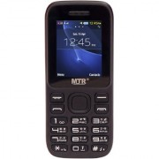 MTR MT-315 DUAL SIM MOBILE PHONE WITH 1.8 INCH SCREEN 800 MAH POWERFUL BATTERY AND LOUD SOUND BLACK COLOR