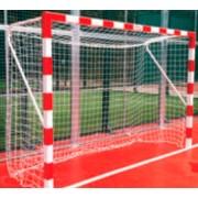 Gol Balonmano-Futebol Salga Fixa em alumínio, 80X80 (2 unidades)