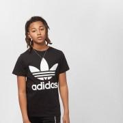 Adidas Junior Trefoil - Zwart - Size: 158; male