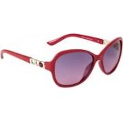 Farenheit Oval Sunglasses(Violet)