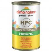 6х140г HFC Almo Nature консервирана храна за котки - тихоокеанска риба тон