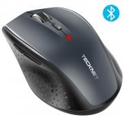 TeckNet BM308 Bluetooth Mouse - ергономична безжична мишка с блутут (за PC) (черна)