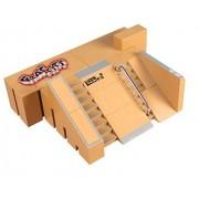 NNDA CO Skate Park Kit,5PCS Skate Park Ramp Parts for Tech Deck Fingerboard Finger Board Ultimate Parks (5)
